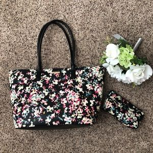 Kate Spade Tote and Makeup Case
